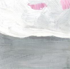 swept, 2006, acrylic on board
