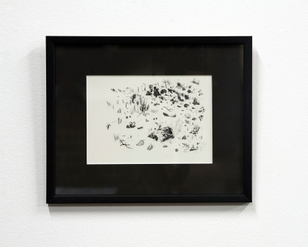 Untitled, 2011, ink on paper, 25.4 x 17.8 cm