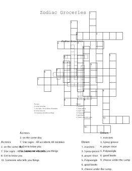 Zodiac Groceries, 2017, ink on paper, 29.7 x 21 cm