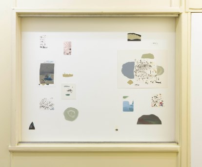 Toward Falcon Heights, 2019 installation view