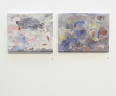 Wunder Pond installation view, 2012, acrylic on canvas, dimensions variable